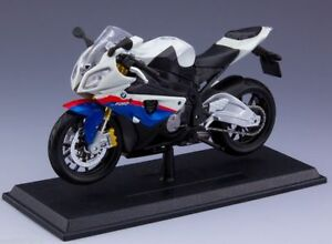 1-12-scale-Maisto-S1000R-Motorbike-Model-Diecast-Blue-amp-White-Motorcycle-Collect