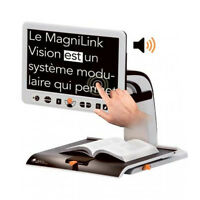 Magnilink Vision Text To Speech (tts) Hd 23 Inch Widescreen Color Auto Focus