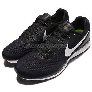 Capable Nike Air Zoom Pegasus 34 Noir Blanc Hommes Chaussures De Course Baskets 880555-001-afficher Le Titre D'origine