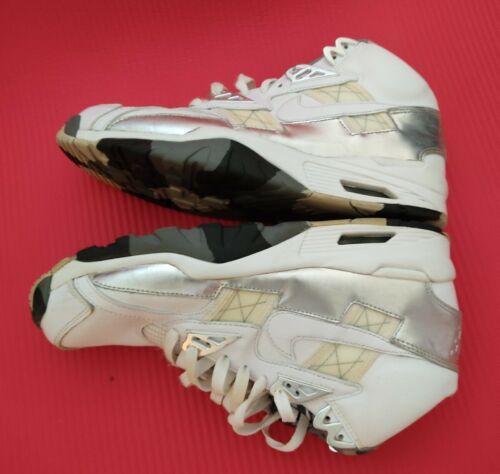 Nike Air Trainer SC High QS - White with White & M