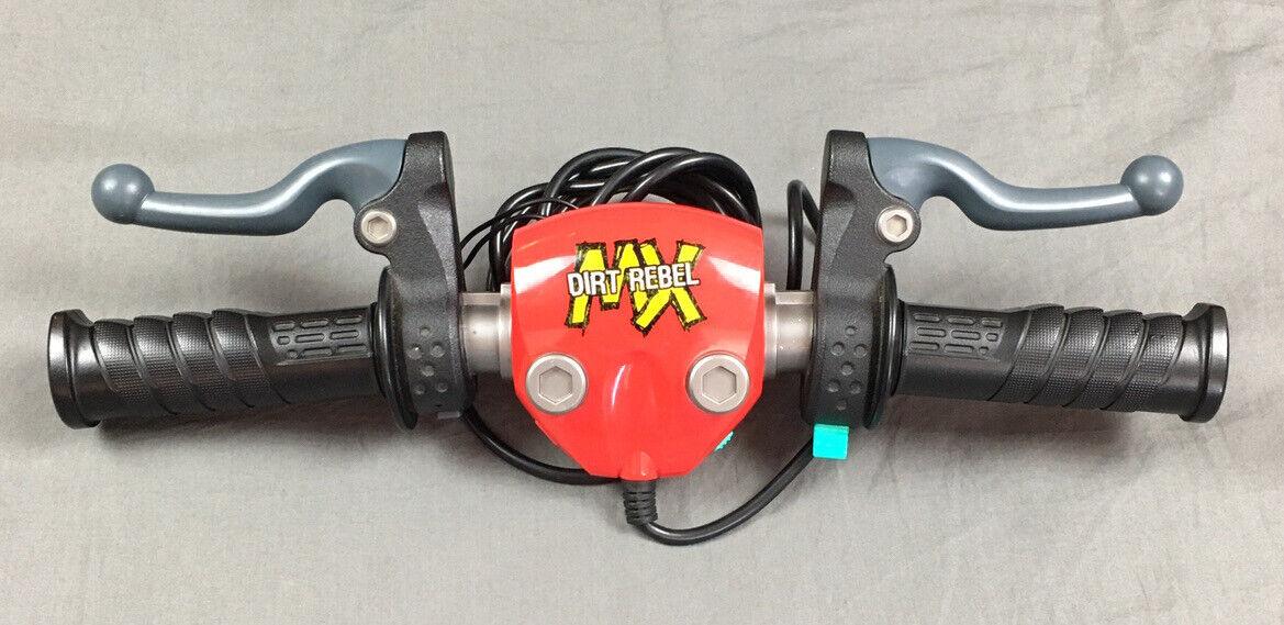 G/én/érique Pit Dirt Bike mango de acelerador Manillar Goma Molle XR CRF50/KLX SSR 50/TTR 1/Pr