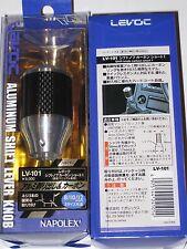 Levoc LV-101 Napolex JDM  Aluminum Carbon fiber Shift Lever Knob NEW razo