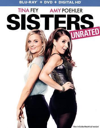 Sisters Blu-ray/DVD, 2016, 2-Disc Set, Includes Digital Copy  - $7.20