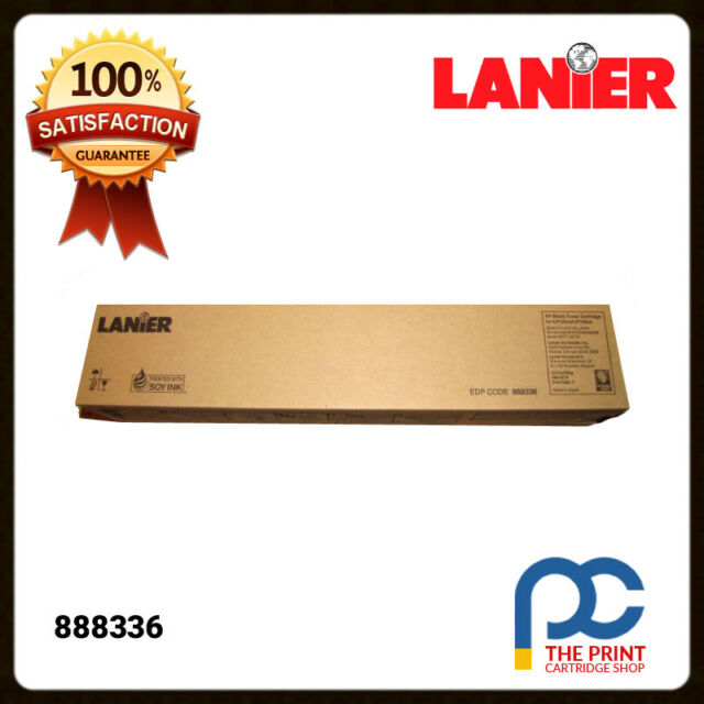 Lanier/Ricoh Genuine 888336 BLACK Toner Cart LP125CX/SPC410DN/SPC411DN/SPC420DN