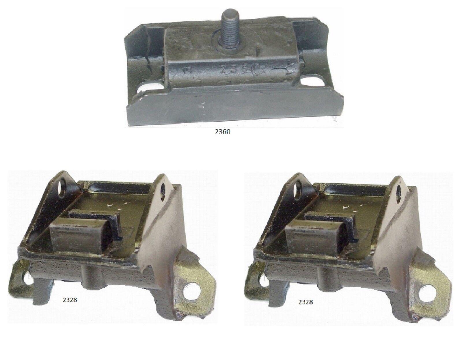 3 PCS Motor & Transmission Mount Kit FIT BUICK Riviera 6.6L Engine 197