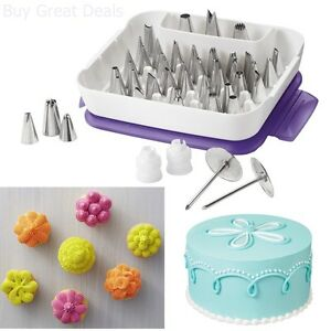 Wilton 55 piece Master Icing Tip Set Cake Decorating nozzle piping ...