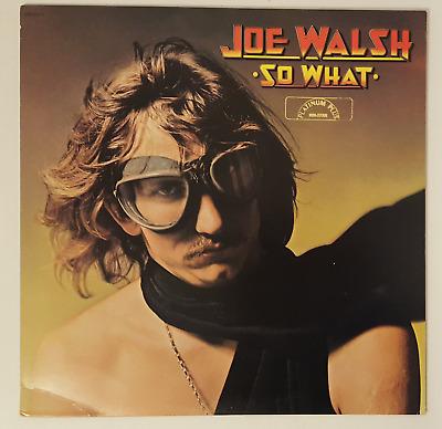 Joe Walsh, So What, Vinyl LP Record Album | eBay