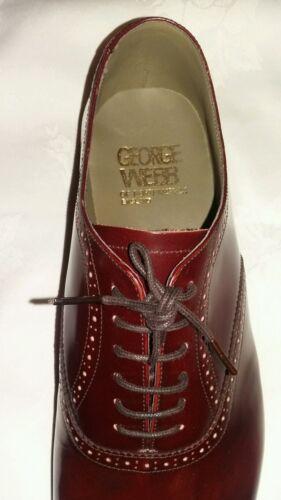 Eu Richelieus Webb Pointure Uk De 12f Lacets George Northampton Angleterre Chaussures 46 Iqv0IwZd