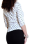 Ladies-Spotted-Top-Stretch-Size-8-10-12-14-16-18-20