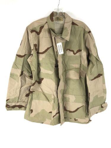 NEW Medium Long Desert Camo Coat US Army Military Combat DCU Uniform Shirt