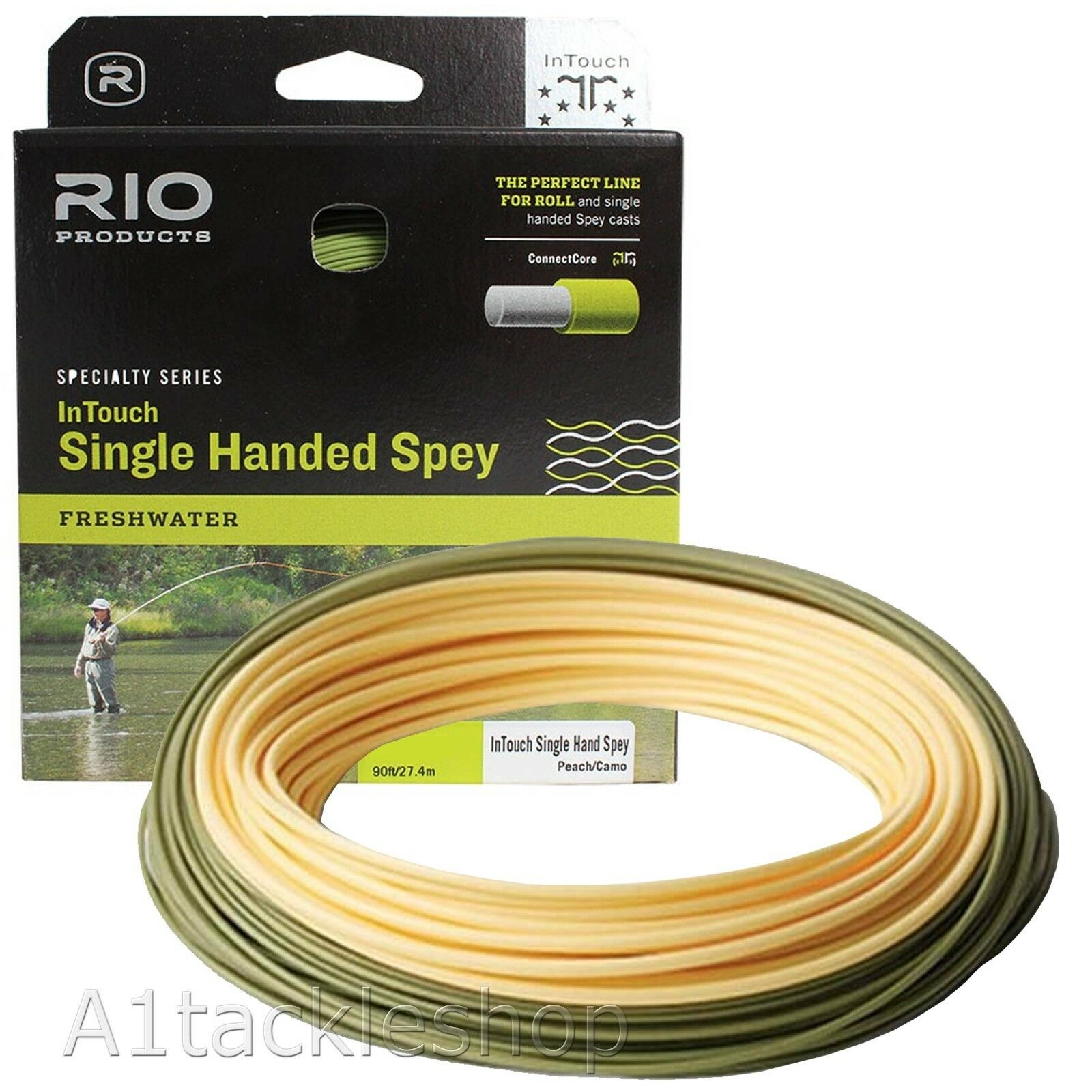 Rio In Touch Single Hand Spey Floating Fly Line Line Fly c3ee08