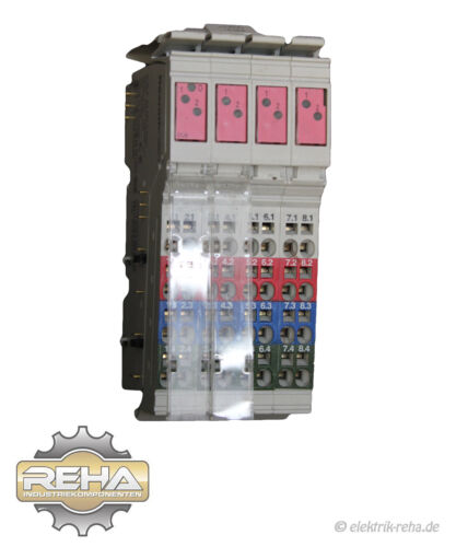 10x Rexroth R-IB il 24 do 8-pac módulos digitales