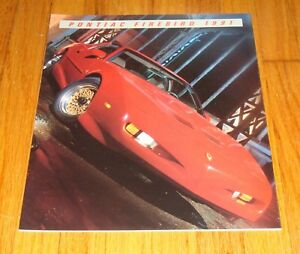 1991 Pontiac Firebird Formula Trans Am GTA Sales Brochure