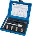 Draper 30823 Expert 6pc Diesel Injector Seat Cutter Set