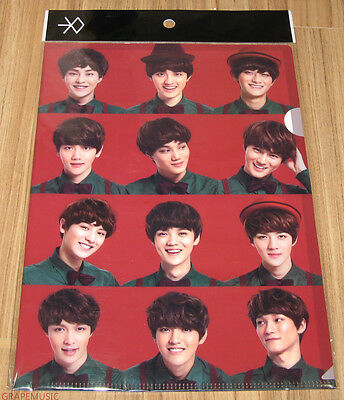 EXO Miracles in December SM LOTTE POP UP GOODS EXO-K EXO-M L-HOLDER CLEAR FILE