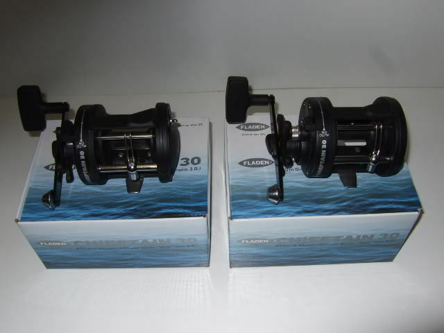2 x Brand New Boxed Sea Fishing Boat Reel C30 Levelwind