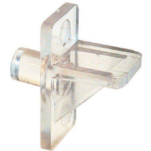 Prime-Line  Clear  Plastic//Steel  Shelf Support Peg  1//8 inch Ga L 0.8 in