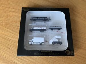 Gemini 200 Airport Service Vehicles for 1/200 Scale Model Aircraft G2APS450 New