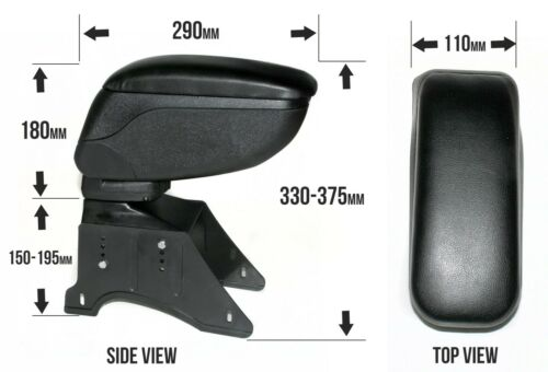 Armrest Centre Console For Ford C-Max Cougar Fiesta Fusion Mondeo Puma S-Max Ka