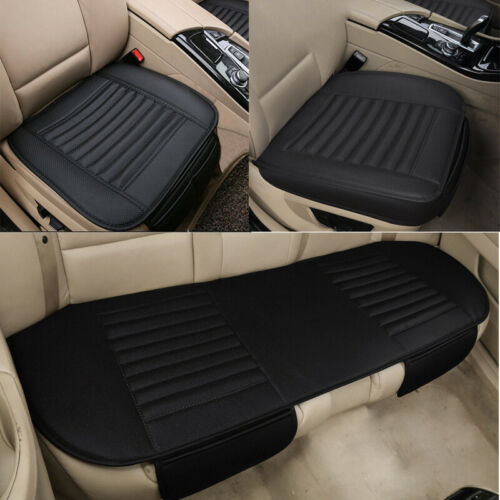 Car Vehicle Front Rear Auto Seat Cover Pad Cushion Protector Full Set Driver Mat