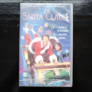 THE-SANTA-CLAUSE-WALT-DISNEY-VHS
