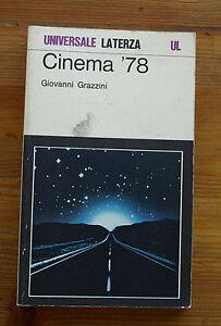 GIOVANNI-GRAZZINI-Cinema-039-78-p-e-1979-Laterza
