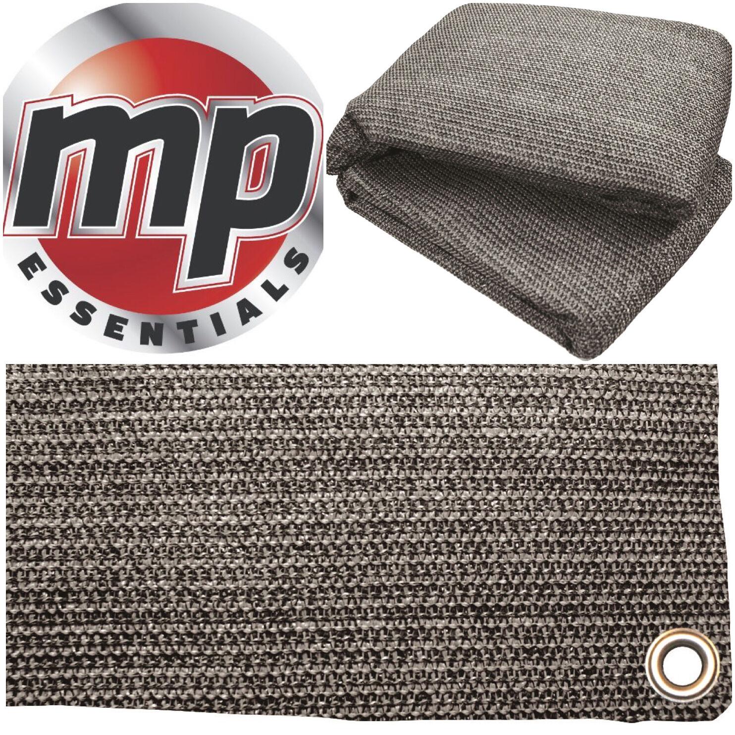 Anthracite & Grey Weaved Groundsheet Tent & Caravan Awning Carpet Mat - 2.5x6.5m