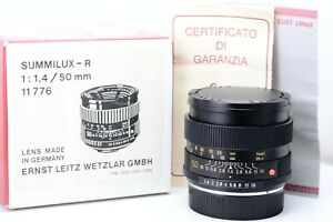 Leica-50mm-f1-4-Summilux-11776-Used-en-bonne-Conditions-With-Emballage