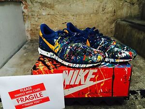 finest selection a6301 5ac04 Image is loading Mr-Brainwash-MBW-NIKE-Just-Did-It-Internationalist-