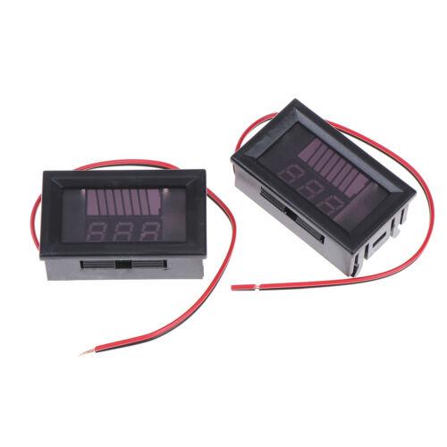 Ladezustandsanzeige der 12-V-Blei-Säure-Batterie BatteriekapazitätsanzeigeR.wy