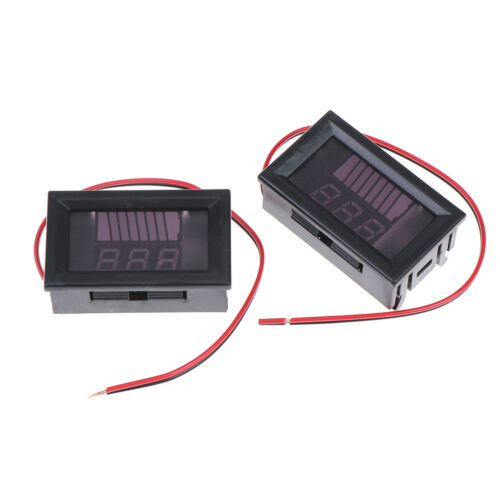 12V ACID Lead Battery Charge Level Indicator Battery Capacity Meter S/&K