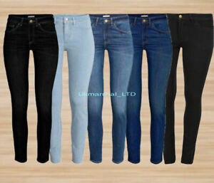 Women-039-s-New-Ex-Zara-ladies-black-and-wash-Denim-Spandex-Jeans-Trouser-for-sale