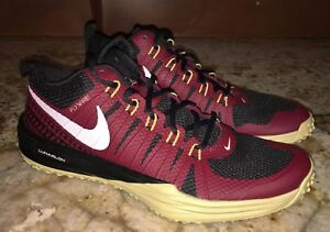 d5572db09fe4 NIKE Lunar TR1 Week Zero FSU Seminoles Garnet Gold Training Shoes ...