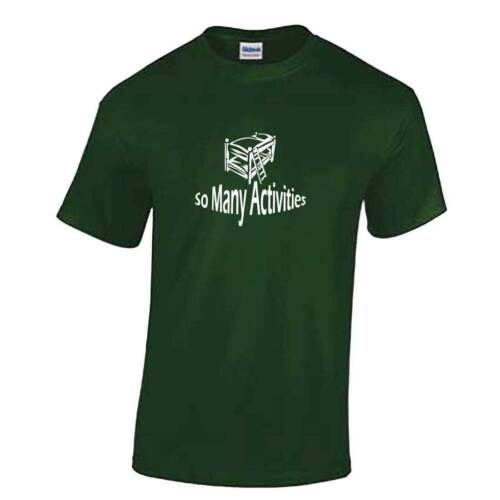 So Many Activities TShirt Mens Boats Hoes Step Bothers Top Will Ferrell Gift