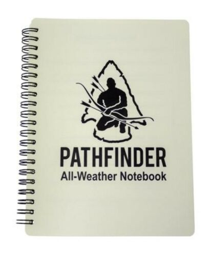 Pathfinder All Weather Waterproof Notebook A5 Spiral Bound Scouts D of E