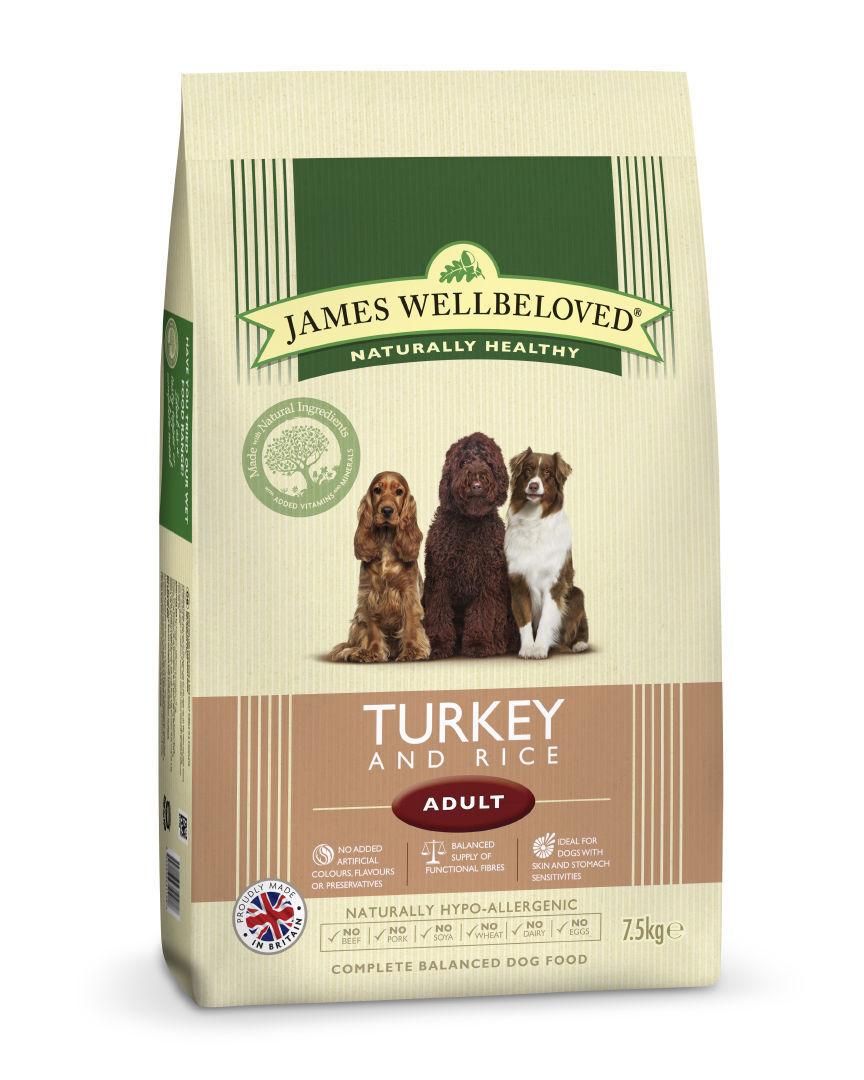 Jwb Adult Dog Maintenance Turkey & Rice Kibble 7.5kg