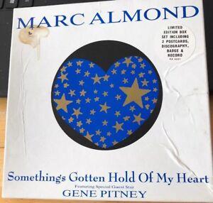 Marc-Almond-Gene-Pitney-Something-039-s-Gotten-Hold-Of-My-Heart-7-034-record-ltd-edt