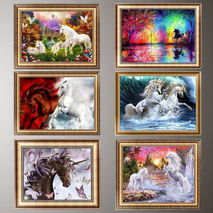 Horse-5D-Diamond-Painting-DIY-Embroidery-Cross-Stitch-Home-Decor-Needlework-Gift