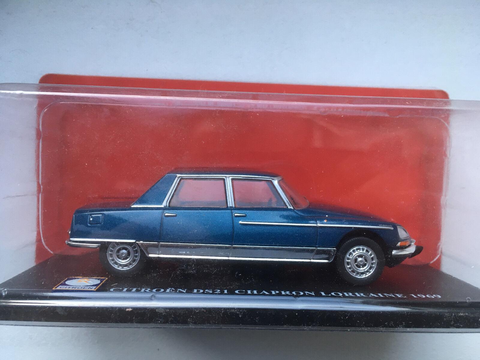 CITROEN DS 21 Chapron  Lorraine 1969 1 43 Neuf en boite I39  marques de mode