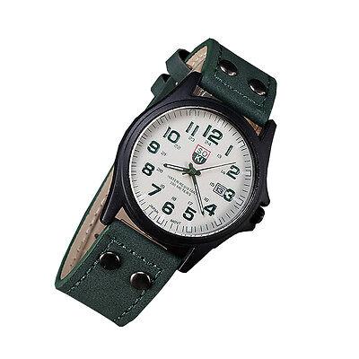 Luxury Casual Men Watches Fashion Belt Military Campaign Calendar Quartz Watch