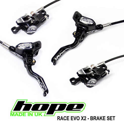 Hope Stealth Race EVO X2 Brakes w  Ti Hardware - All Options - Brand New