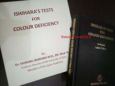 Prueba del color de la ceguera libro Ishihara 14 Platos KFW Marca