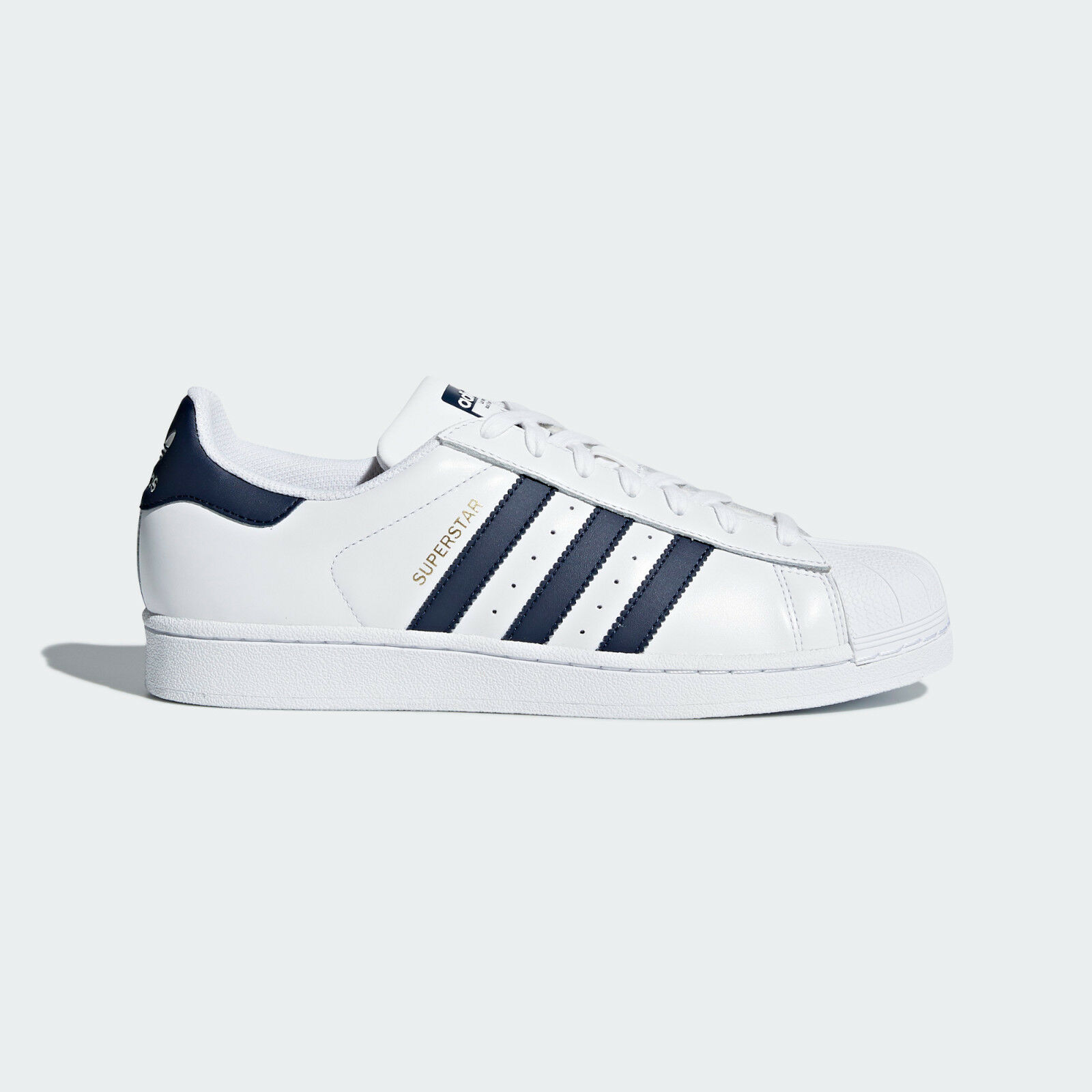 0082efeaa25 adidas Originals Superstar White Collegiate Navy Men Shoes SNEAKERS ...