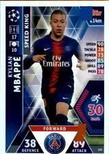 Champions League 18/19 - Karte 285 - Kylian Mbappe - Speed King