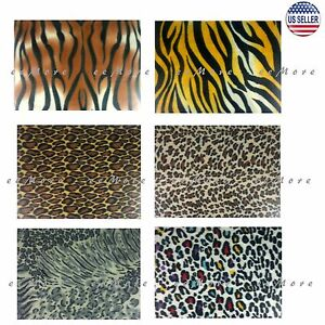 50-x-60-Soft-Animal-Leopard-Tiger-Safari-Print-Fleece-Throw-Blanket-US-Stock