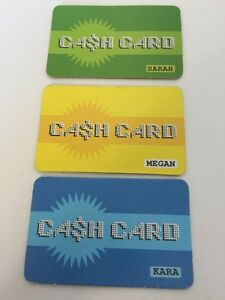 3-MALL-MADNESS-2004-Replacement-Parts-Cash-cards