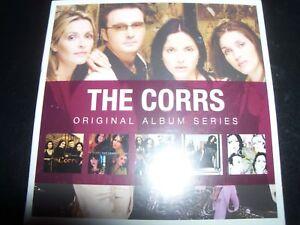 Corrs-Original-Album-Series-5-CD-Forgiven-not-Forgotten-Talk-On-Corners-In-Blue