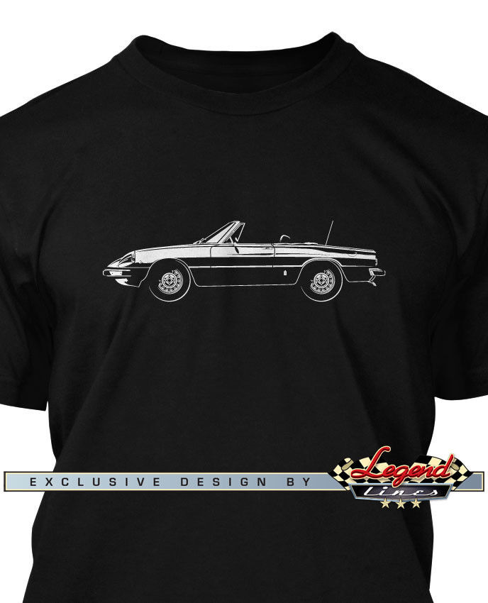4123f60a Alfa Romeo Spider Veloce 1970 - 1982 T-Shirt for Men - Multiple colors and