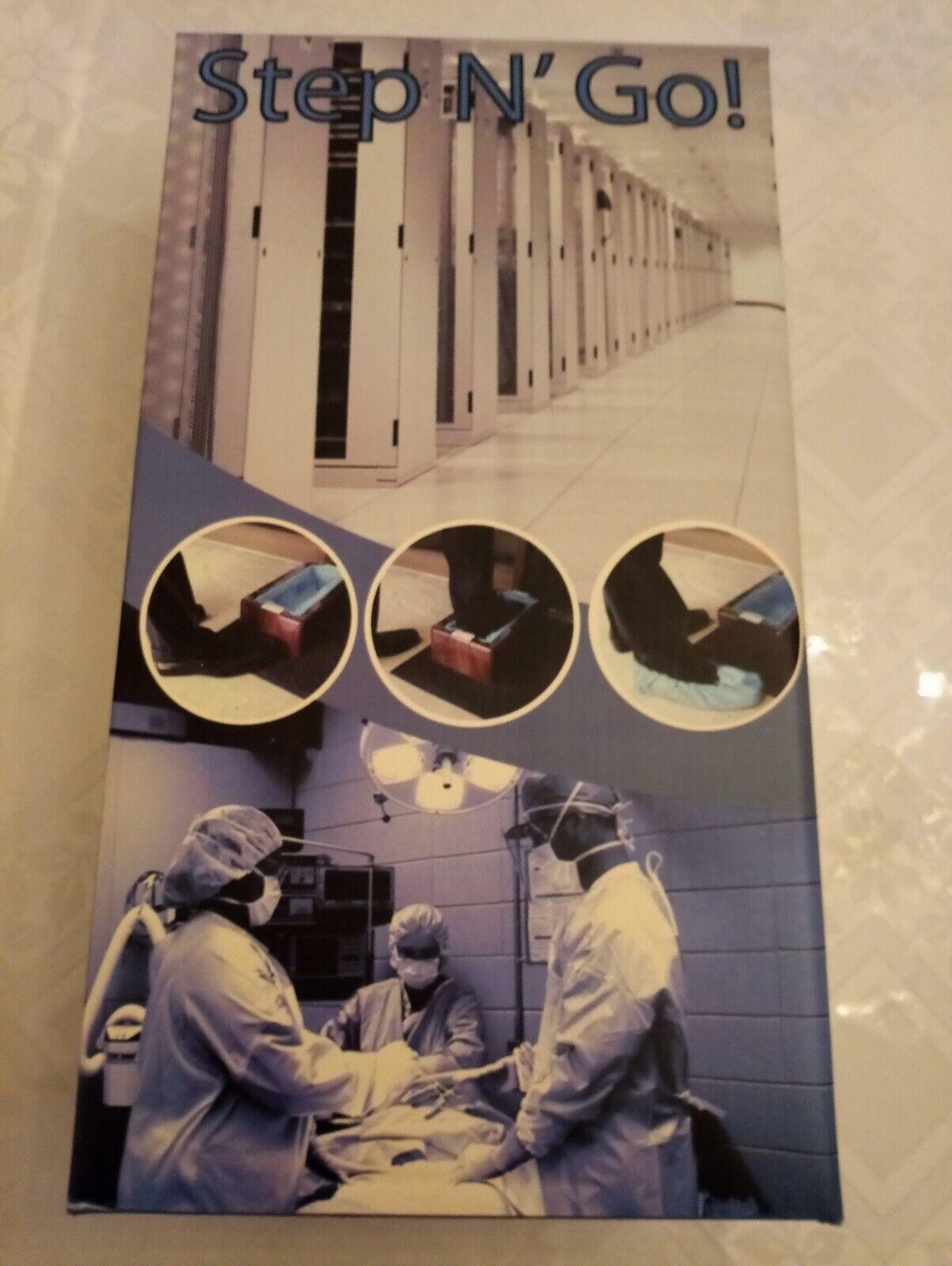 ORIGINAL Step N' Go Shoe,Boot Cover Dispenser Ma ne for Construction,Hospital