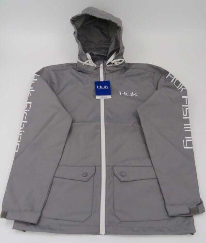 Huk Men/'s Breaker Full Zip Fishing Jacket With Hood